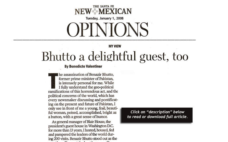 Bhutto article